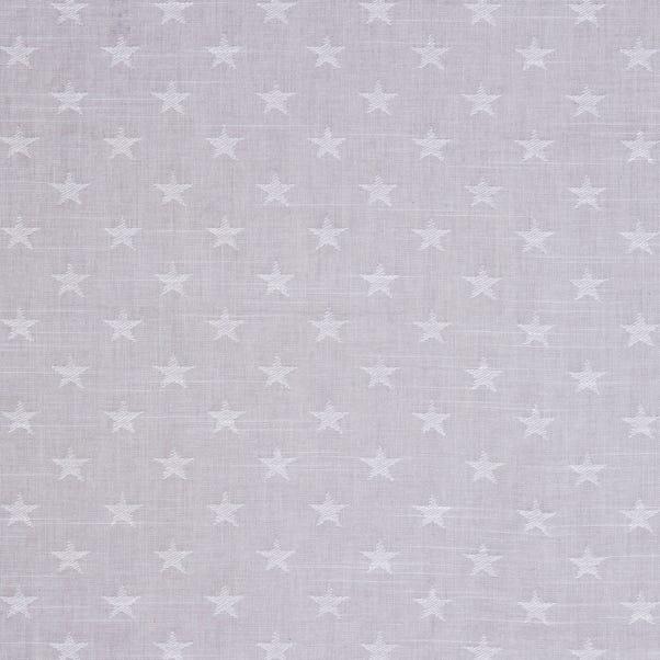 Star Design Fabric Natural