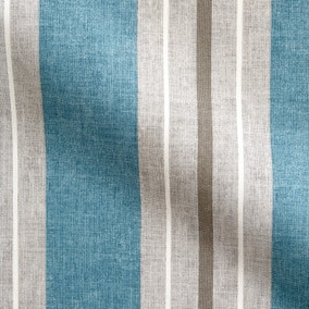 Vintage Stripe Blue Fabric