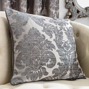 Versailles Charcoal Cushion