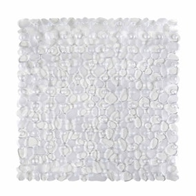 Pebbles Clear Shower Mat