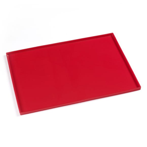 Silicone Flexi Mat Red