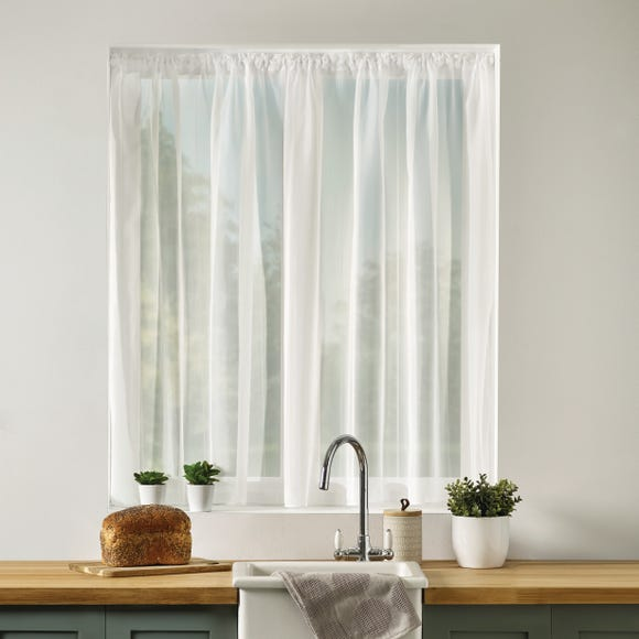 Luxe Stripe Voile Fabric  undefined