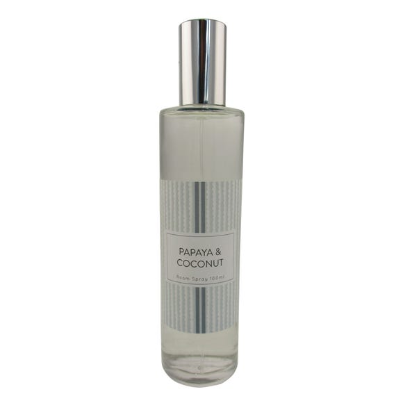 Papaya and Coconut 100ml Room Spray Clear