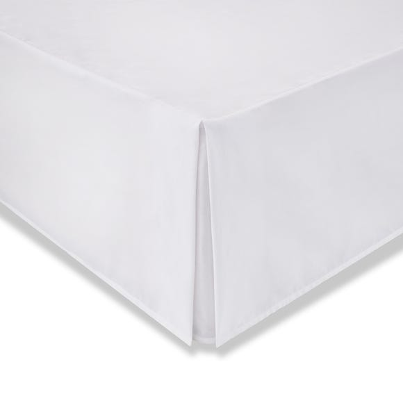 Cotton Rich Sateen White Valance  undefined