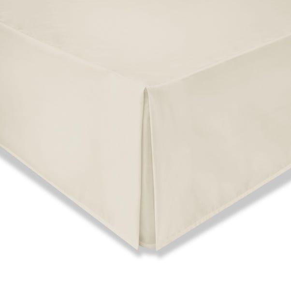 Cotton Rich Sateen Cream Valance  undefined