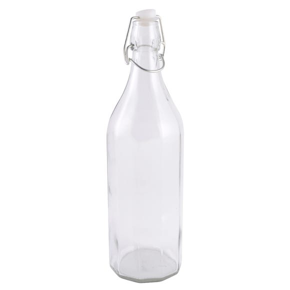 Large Clear Glass Bottle Clear