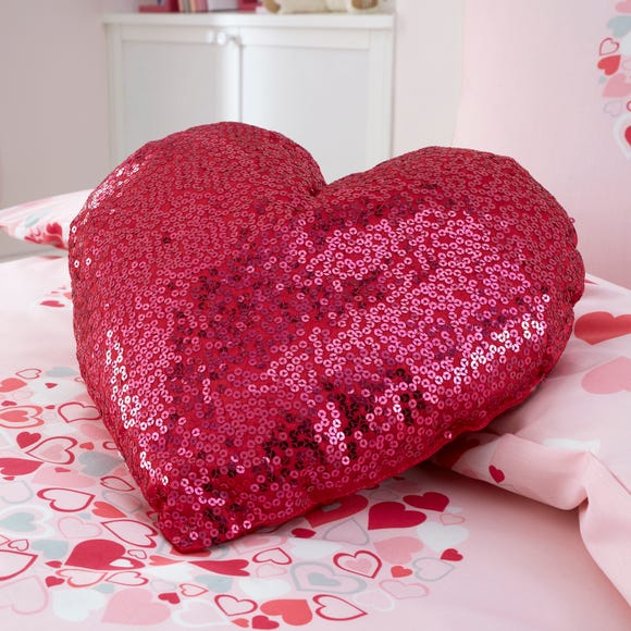 Loveable Hearts 3D Cushion Pink