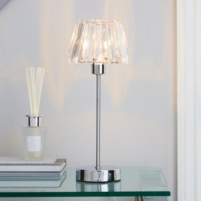 Paloma Chrome Lamp