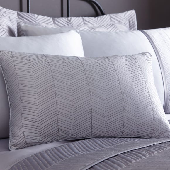 Owen Grey Boudoir Cushion Grey