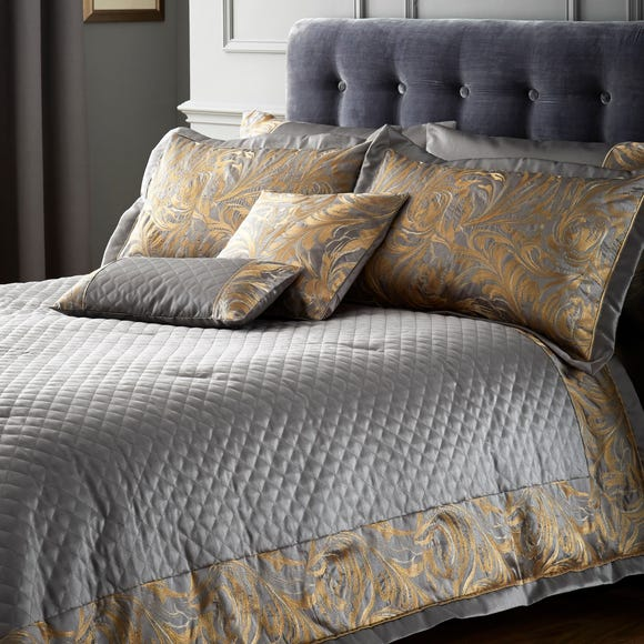 Grayson Pewter Bedspread Pewter (Grey) undefined
