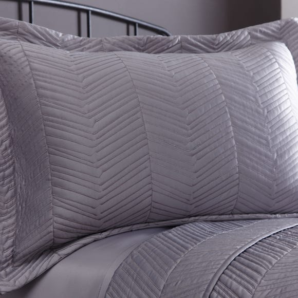 Owen Grey Pillow Sham Grey