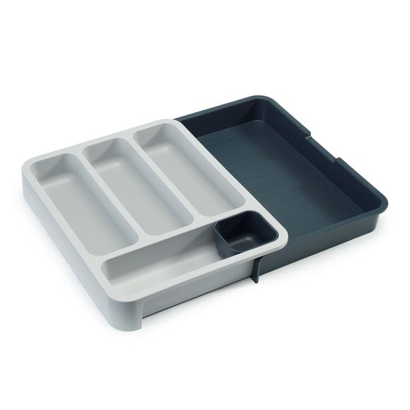 Joseph Joseph Drawer Store with Cutlery Tray Grey