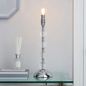 Aries Chrome Table Lamp Base