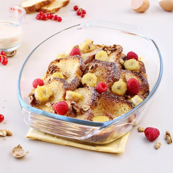 Pyrex Optimum Oval Roaster Clear