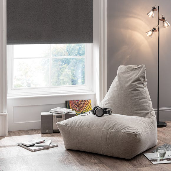 Bristol Grey Bean Bag Chair Grey