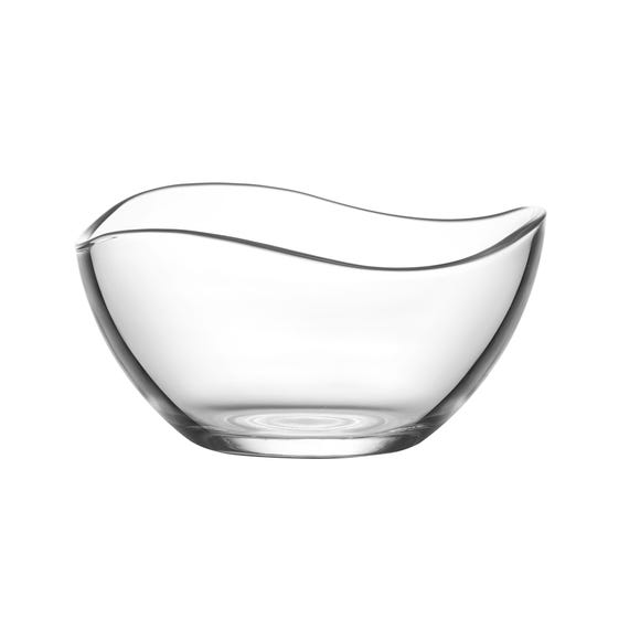 Wave Dessert Bowl Clear