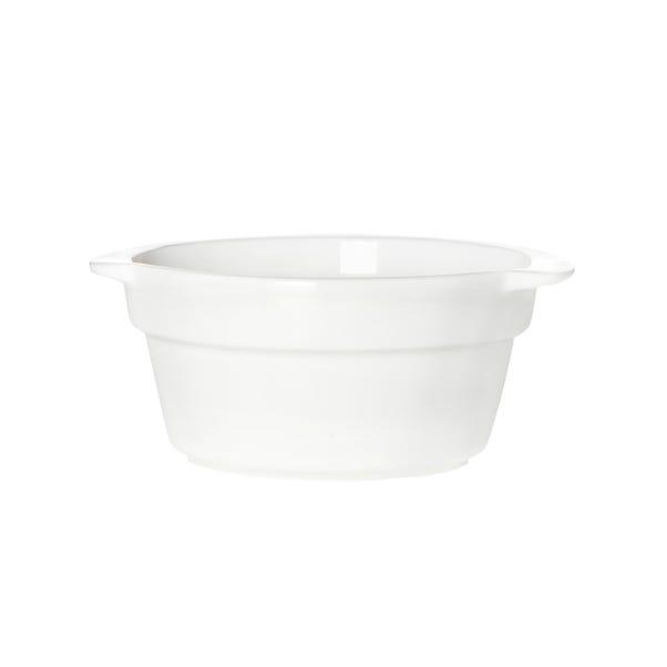 Purity Round Dip Dish White