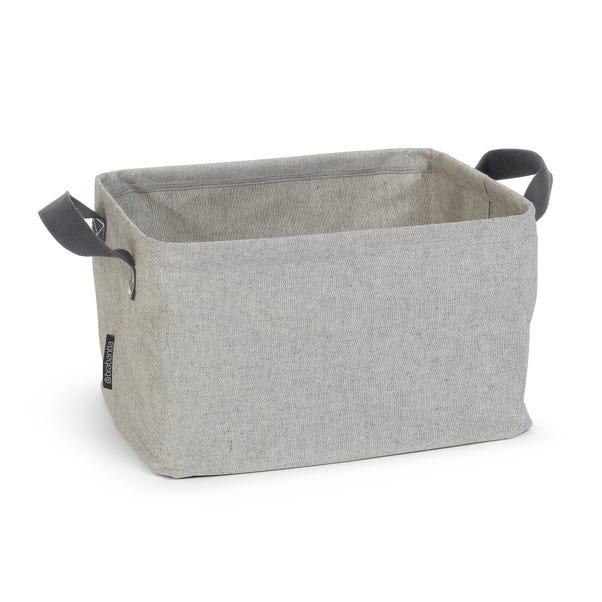 Brabantia Grey Foldable Laundry Basket Grey