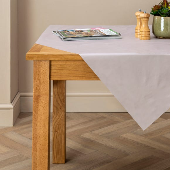 Taupe PVC Tablecloth Taupe (Cream) undefined