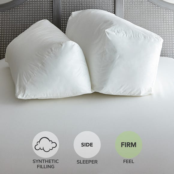 Complete Firm-Support Pillow White