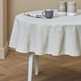 Polylinen Round Tablecloth