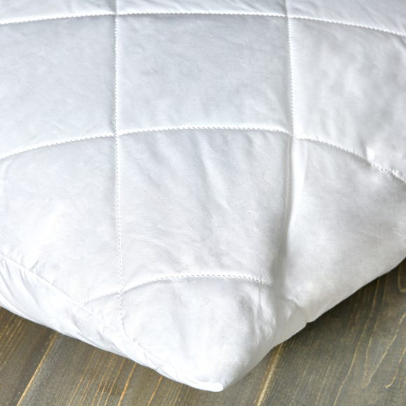 Dorma Pillow Protector Pair White
