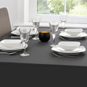 Spectrum Black Tablecloth