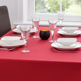 Spectrum Red Tablecloth