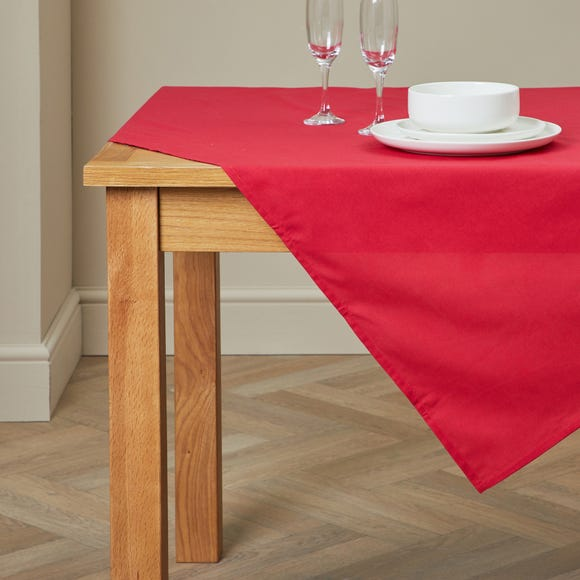 Spectrum Red Tablecloth Red undefined