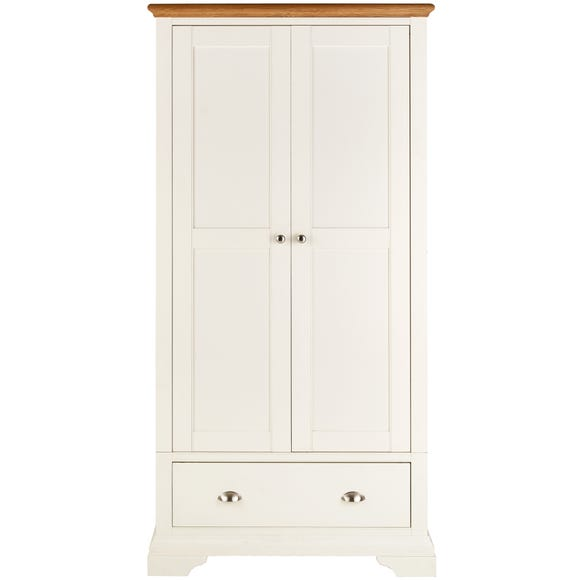 Eaton Cream Double Wardrobe Cream