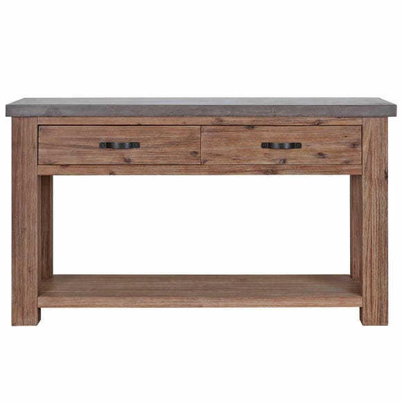 Harvey Acacia Console Table Grey