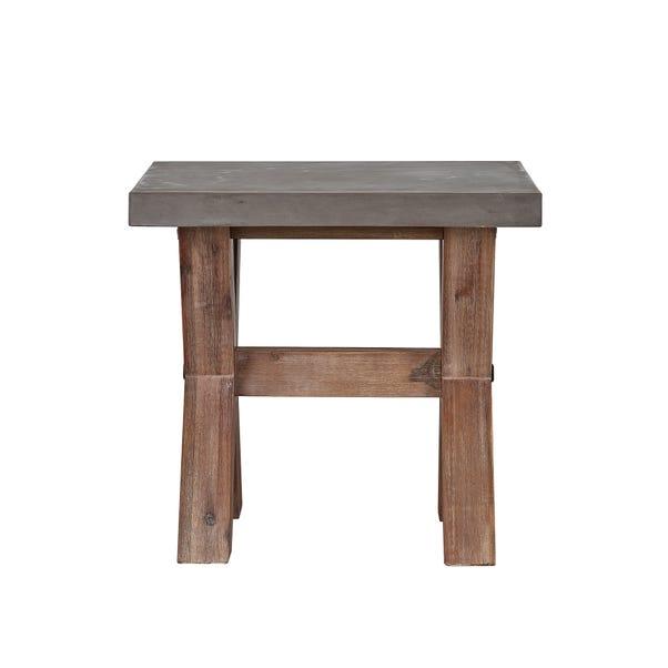Harvey Acacia Lamp Table Grey