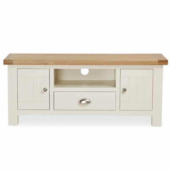 Wilby Cream TV Stand Cream (Natural)