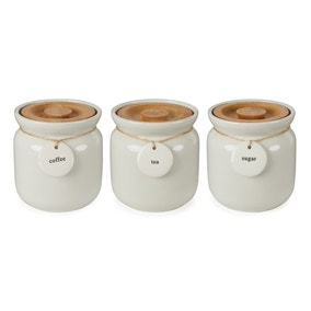 Hang Tag White Canister