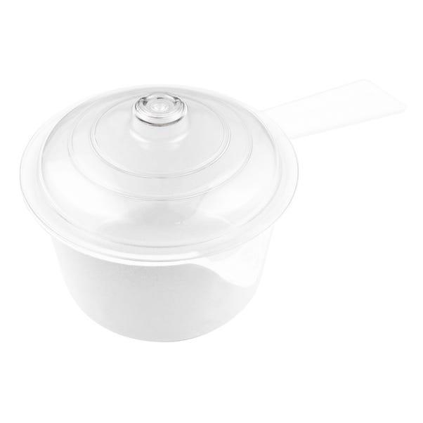 Good2Heat Microwave Saucepan with Lid White