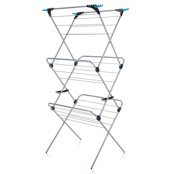 Minky 3 Tier Plus Airer Silver