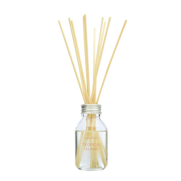 Wax Lyrical Exotic Island Reed Diffuser Clear undefined