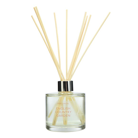 English Country Garden Reed Diffuser Clear undefined