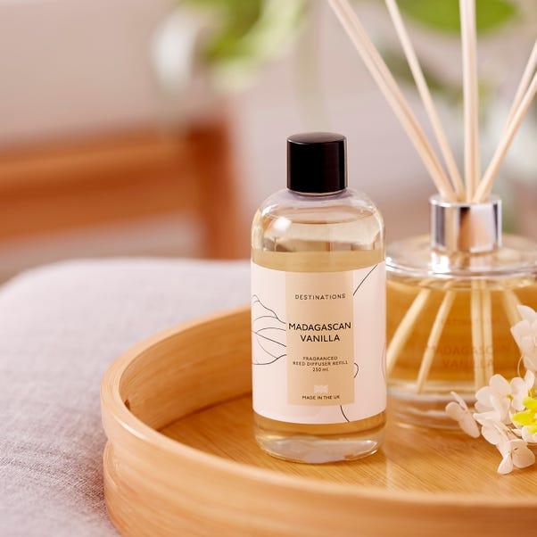 Wax Lyrical Madagascan Vanilla 250ml Reed Diffuser Refill Clear