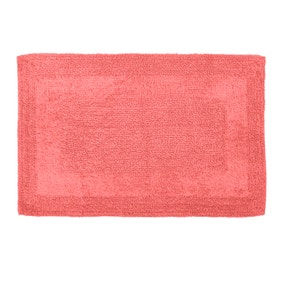 Super Soft Reversible Coral Bath Mat
