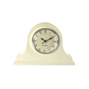 White Classic Mantel Clock