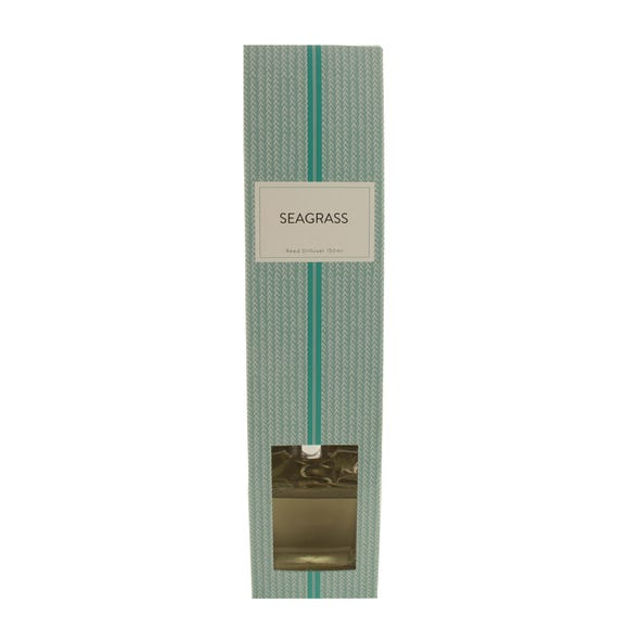 Seagrass Reed Diffuser Clear undefined