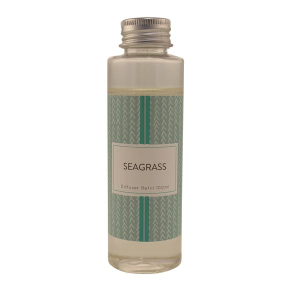 Seagrass Reed Diffuser Refill Clear
