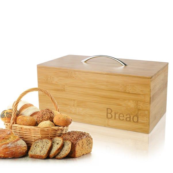 Bamboo Wooden Bread Bin Bamboo