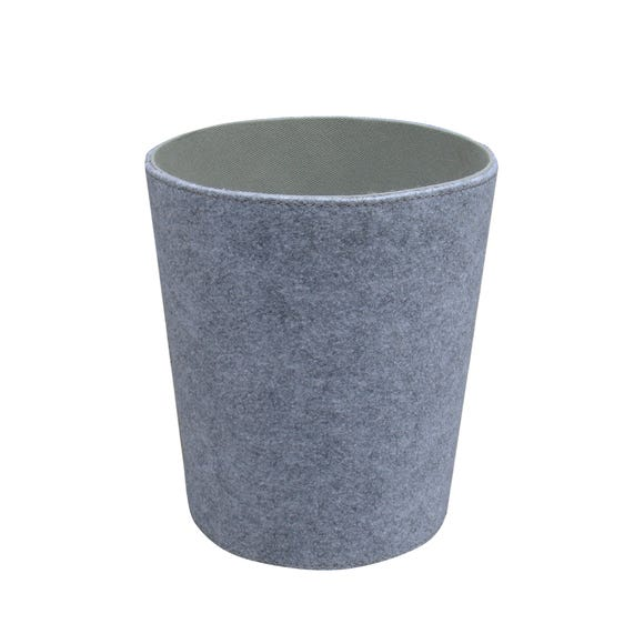 Grey Two Tone Waste Bin Grey