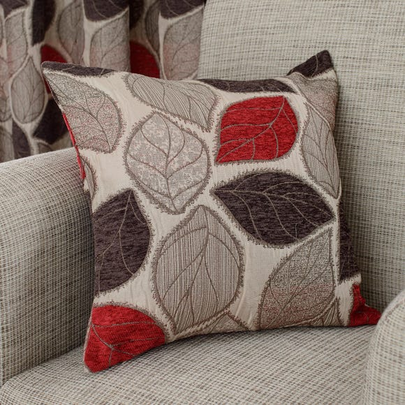 Sherwood Red Cushion Red