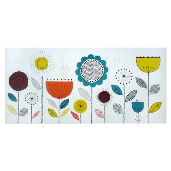 Elements Bloom Canvas MultiColoured