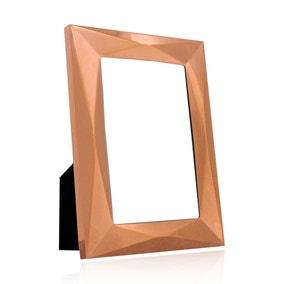 "Copper Pressed Metal Photo Frame 7"" x 5"" (18cm x 12cm)"