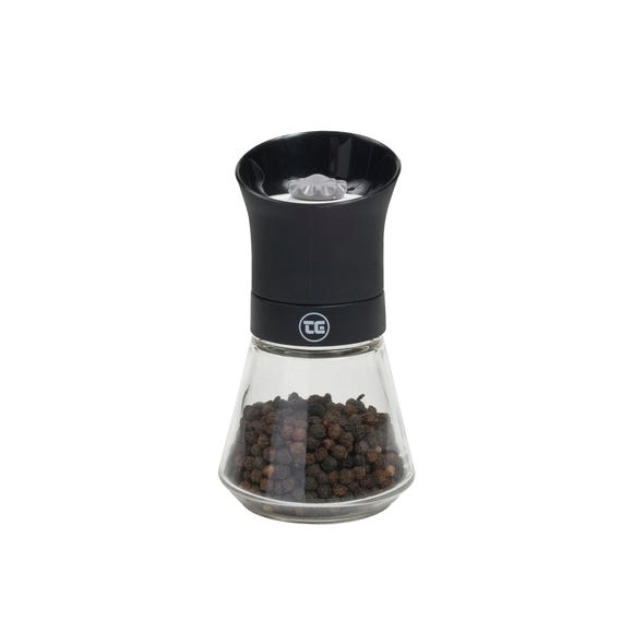 T&G CrushGrind Tip Top Pepper Mill Black
