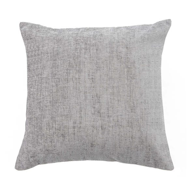 Chenille Cushion Grey undefined
